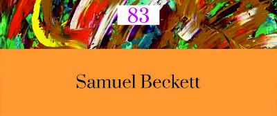 83 Poesía más Poesía: Samuel Beckett
