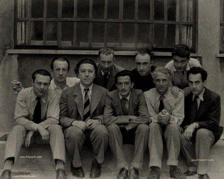 1933 Tristán Tzara Paul Éluard André Breton Jean Arp Salvador Dalí Yves Tanguy Max Ernsty René Crevel. - Poesia Online