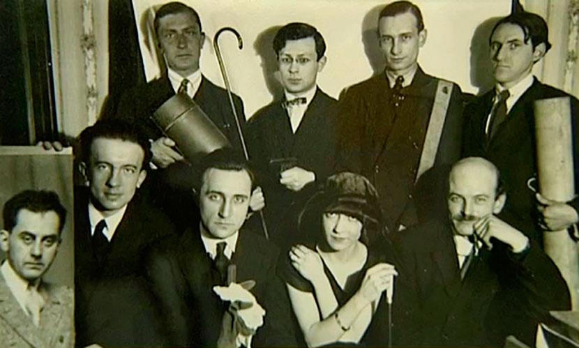 El grupo dada 1922. Cortesía MAMCS - Poesia Online