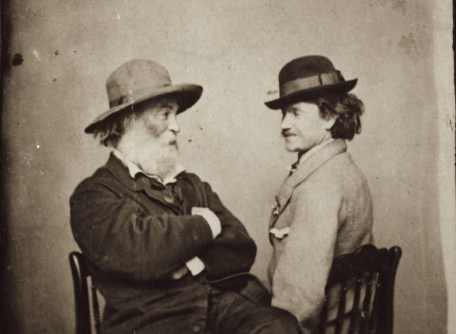 Walt Whitman y Peter Doyle. - Poesia Online