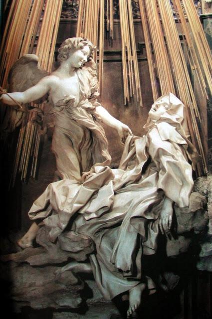 xtasis de Santa Teresa. Autor Gian Lorenzo Bernini. - Poesia Online