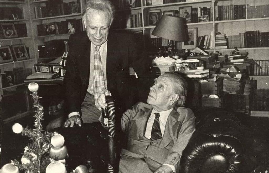 Borges con Bioy Casares - Poesia Online