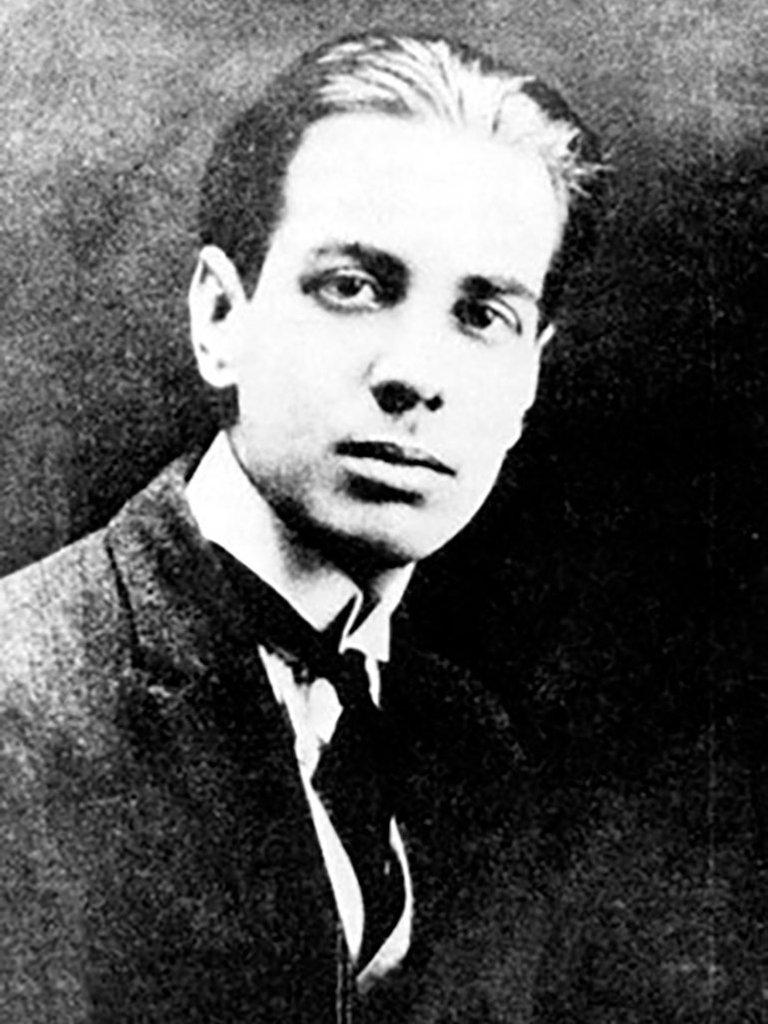 El joven Borges en 1921 - Poesia Online