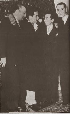 Homero Manzi en Mexico en 1946 con Cantinflas Discepolo y Benard - Poesia Online
