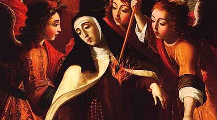 La transverberación de Santa Teresa de Josefa de Obidos - Poesia Online