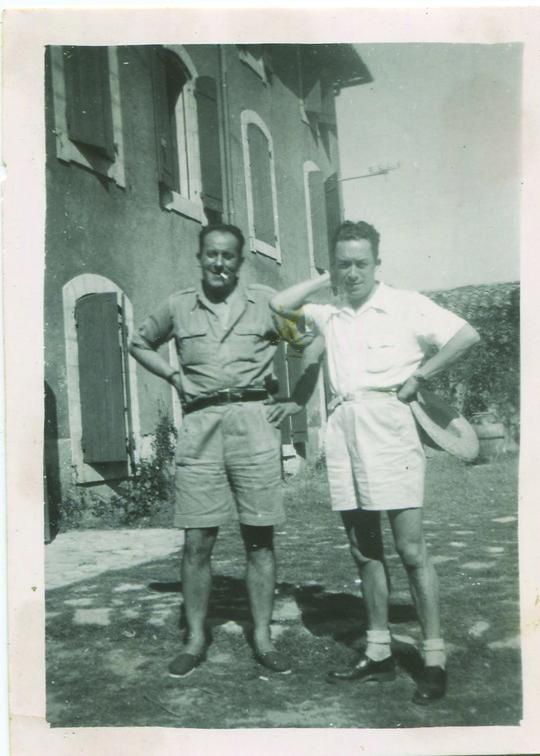 René Char 08 Albert Camus LIsle sur la Sorgue septembre 1949 - Poesia Online