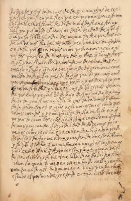 Santa teresa manuscrito - Poesia Online