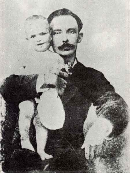 josé martí con su hijo - Poesia Online
