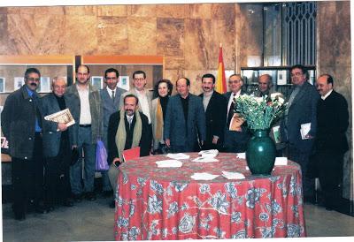 Homenaje a Trina en la Biblioteca del Instituto Cervantes de Tánger 2003. - Poesia Online