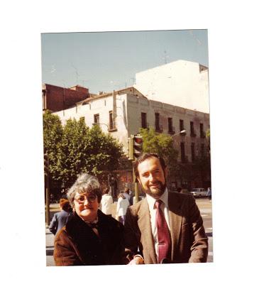 Trina Mercader y Fernando de Ágreda en Madrid - Poesia Online