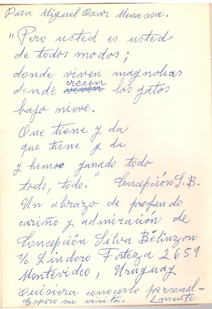 concepcion silva belinzon - Poesia Online