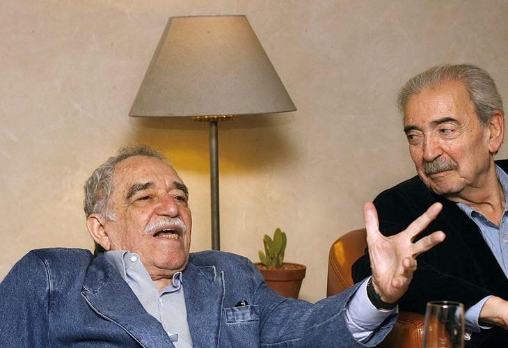 Juan Gelman con Gabriel García Márquez - Poesia Online