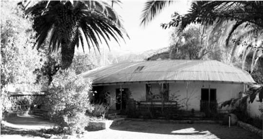 casa donde vivía Gabriela Mistral en los Andes - Poesia Online