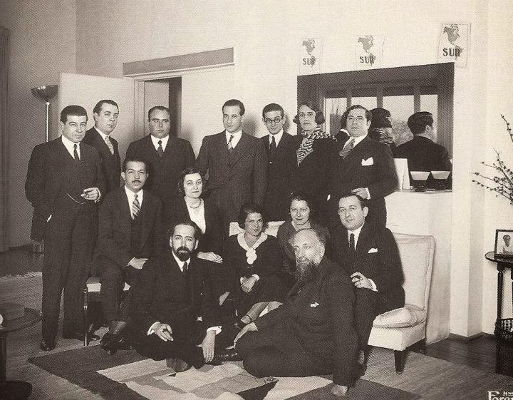 JLB Borges Girondo y grupo de Martín Fierro - Poesia Online