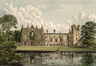 La mansión de Newstead Abbey antigua casa solariega de los Byron. - Poesia Online