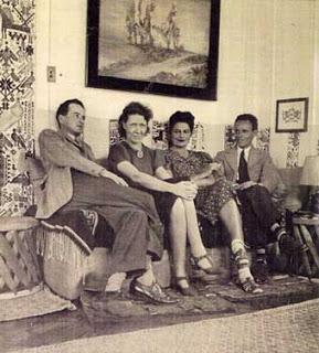 Wolfgang Paalen Eva Sulzer Alice Rahon y César Moro México 1940 - Poesia Online