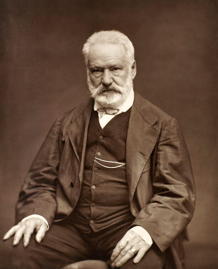 Victor Hugo by Étienne Carjat 1876   full 1 - Poesia Online