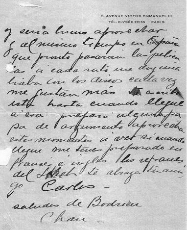 Carta de Gardel a Le Pera 2 - Poesia Online