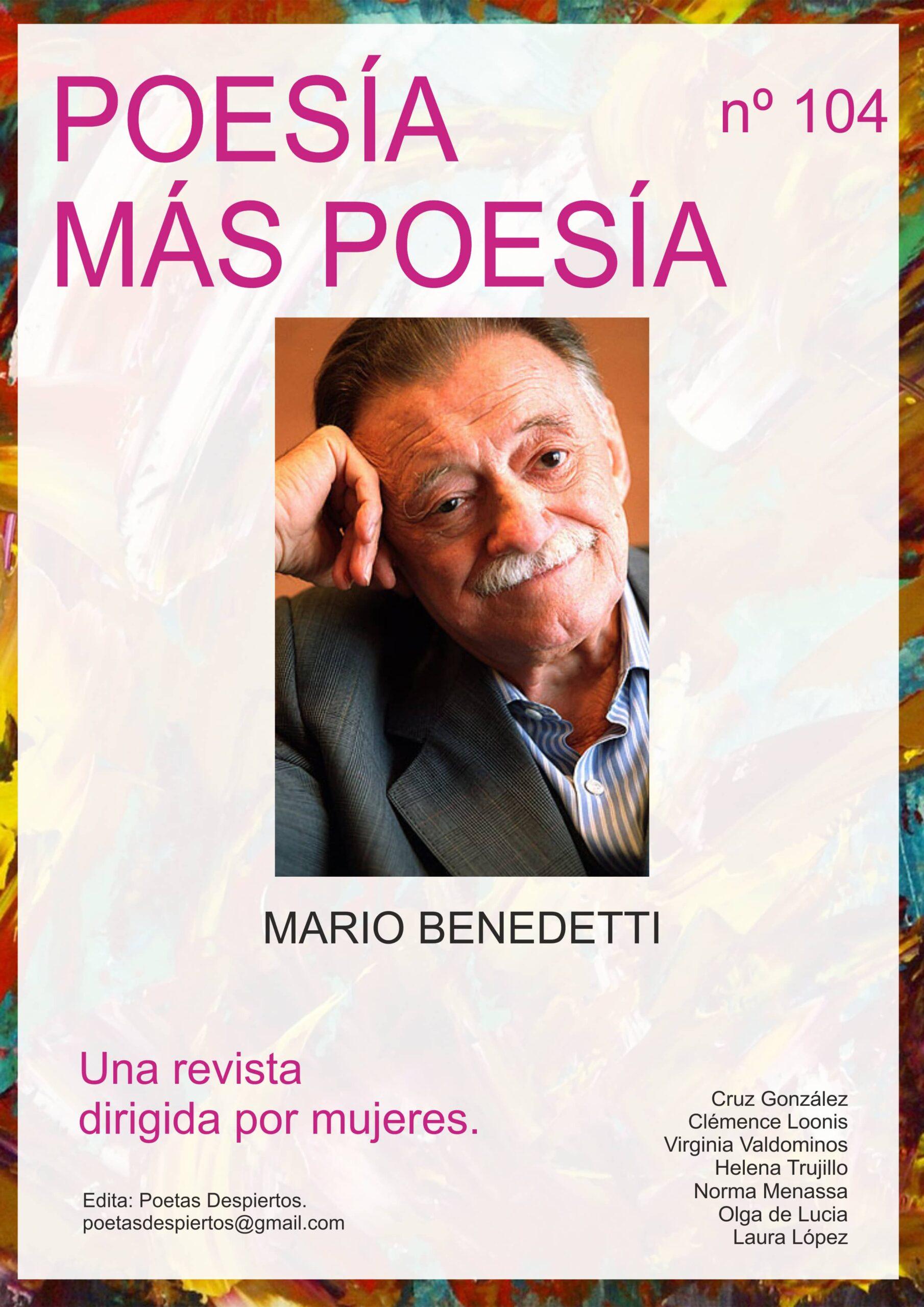 Revista Poesía más Poesía dedicada al poeta uruguayo Mario Benedetti