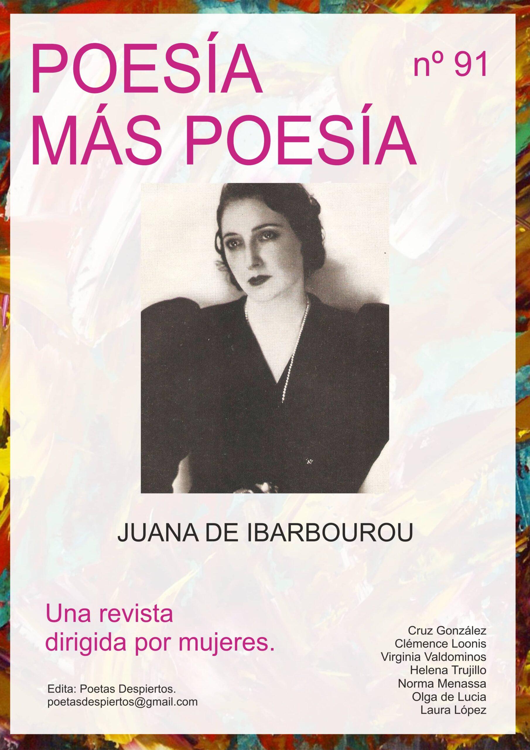 Revista de poesía dedicada a la poeta uruguaya Juana de Ibarbourou y a la poeta española Pilar Rojas