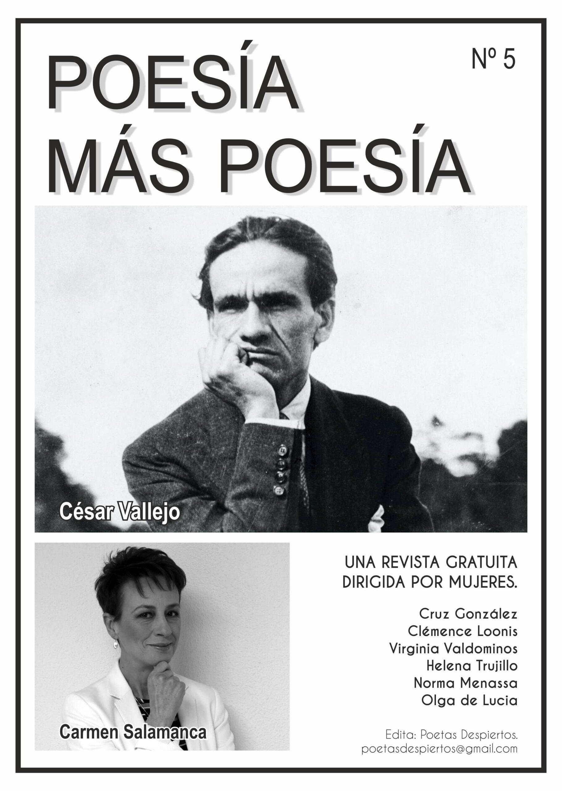 Revista dedicada al poeta César Vallejo y a la poeta Carmen Salamanca Gallego.