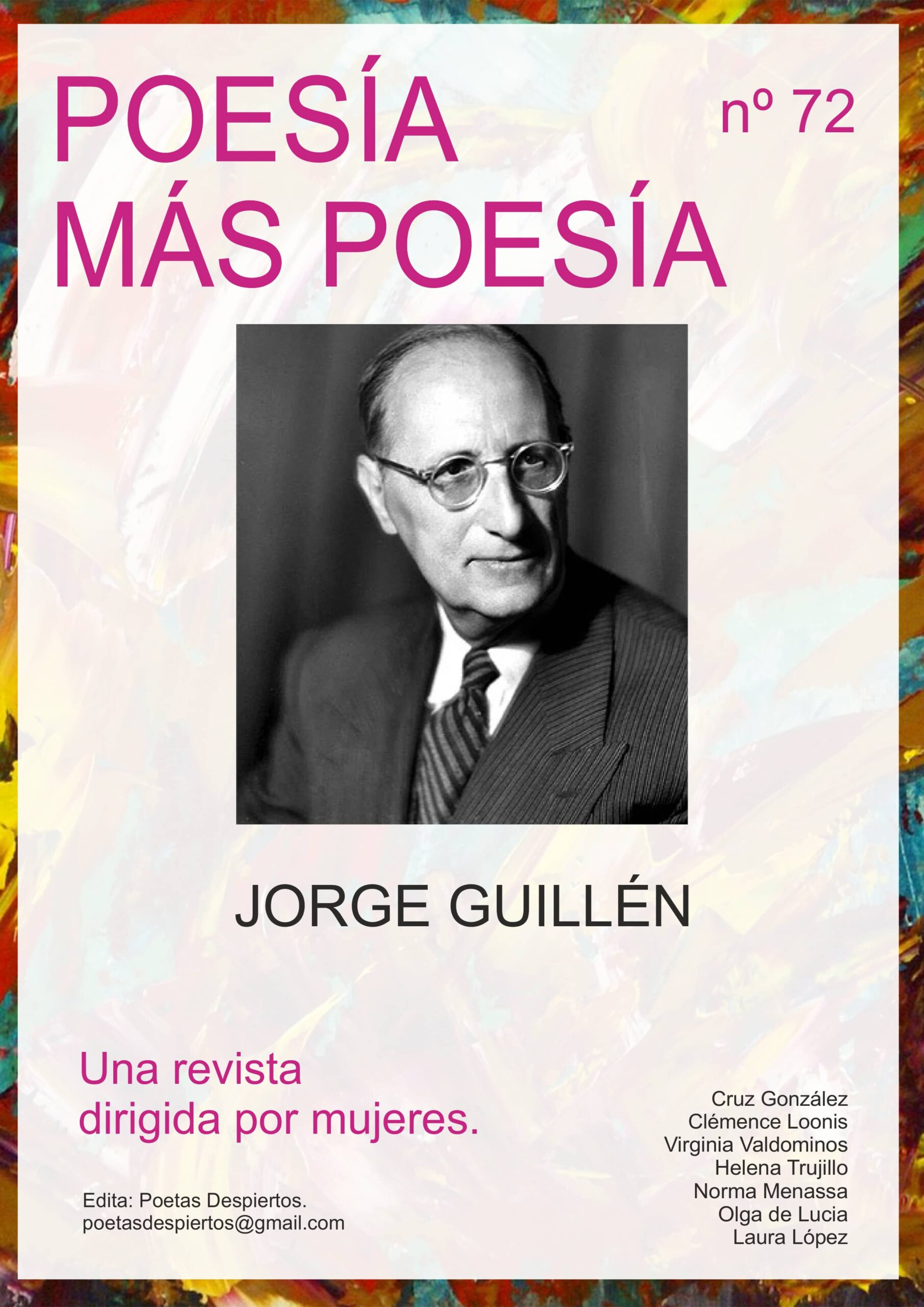revista poesia mas poesia poeta jorge guillen generacion del 27 scaled - Poesia Online